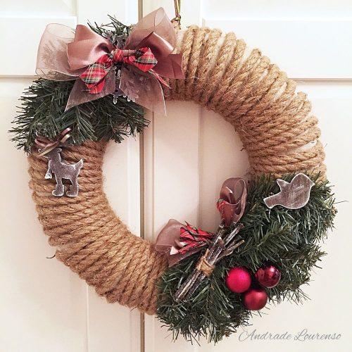 Ako vyrobiť vianočný veniec